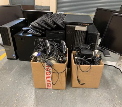 Read more about Salt Separation Services donate old computer equipment to WEEE charity.